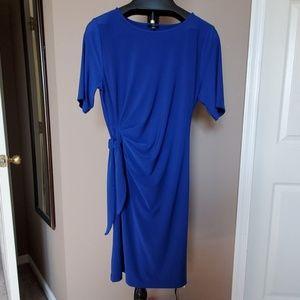 Blue Talbots Jersey Dress, size 16P